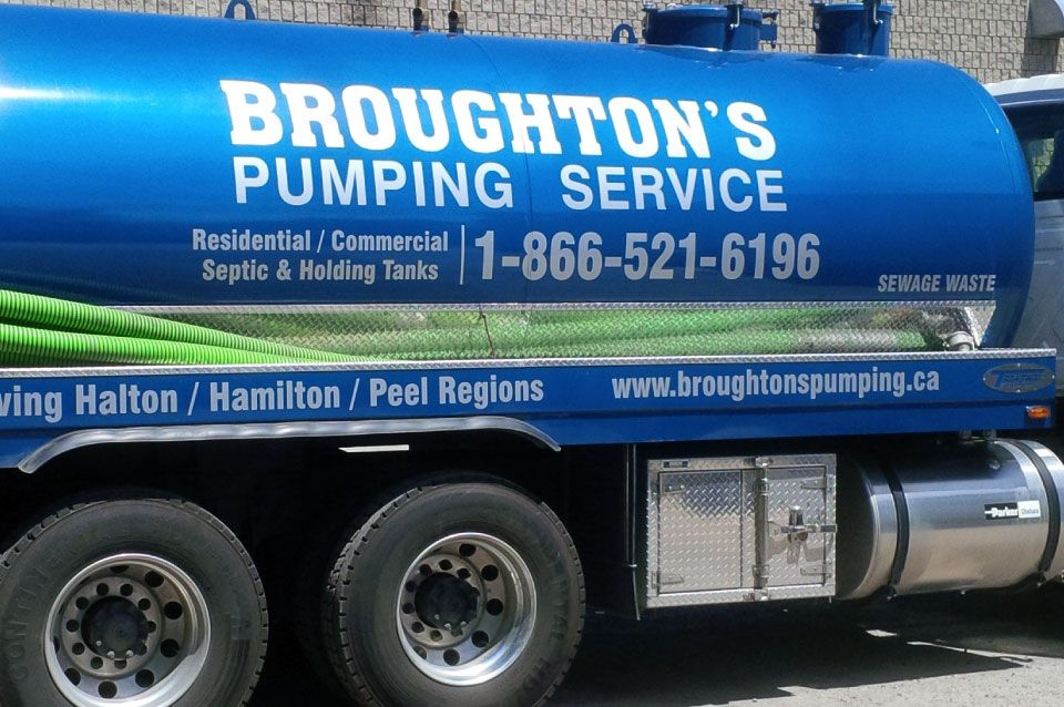 broughton's pumping service